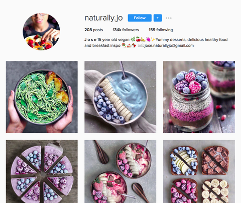@naturally.jo instagram foodie blogger