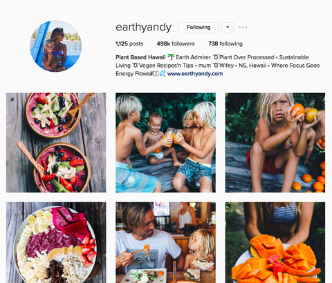@earthyandy instagram account