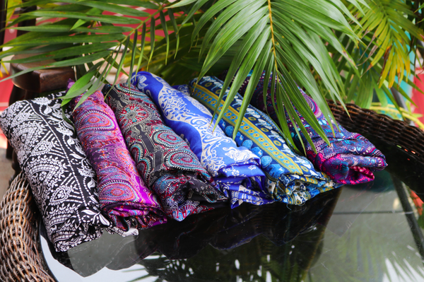 Printed thai trousers uk