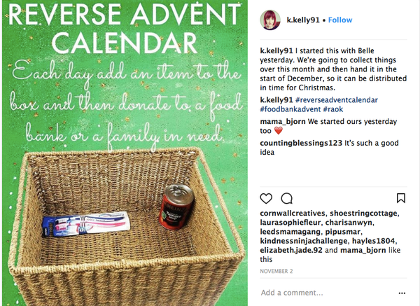 Reverse Advent Calendar Ideas : Reverse advent calendar picswe
