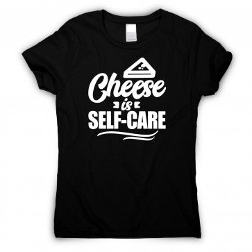 cheese is self care tee