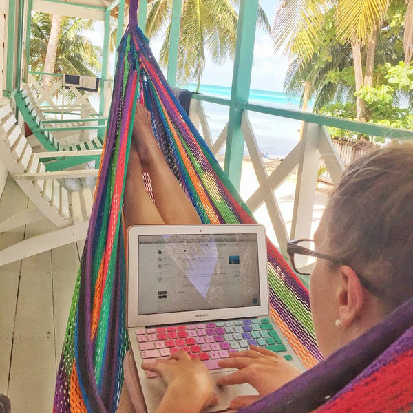 how to work remotely from a computer and travel the world