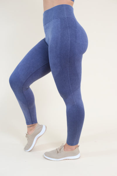 Mineral Denim Look Leggings - My Mantra
