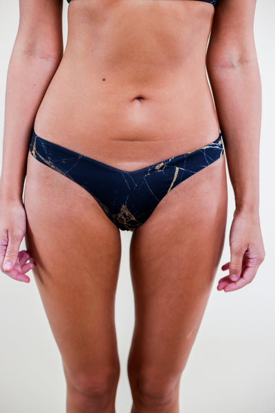 Gold Dust Black Bikini Bottoms - My Mantra
