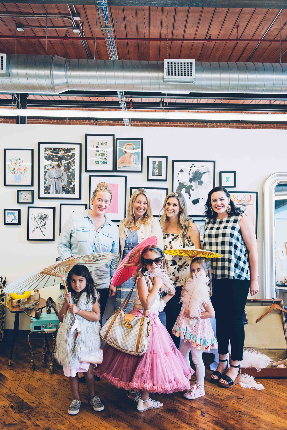 Tea and Treasures at Loren Hope: Our Mother's Day Class