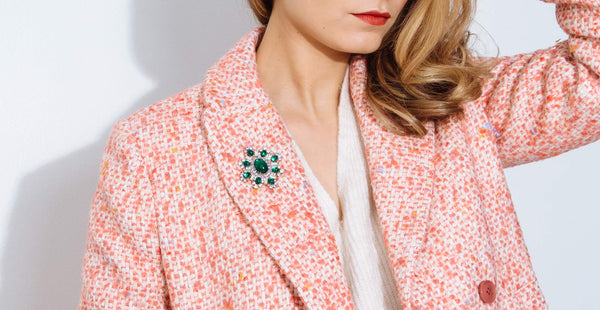 How to Wear a Brooch