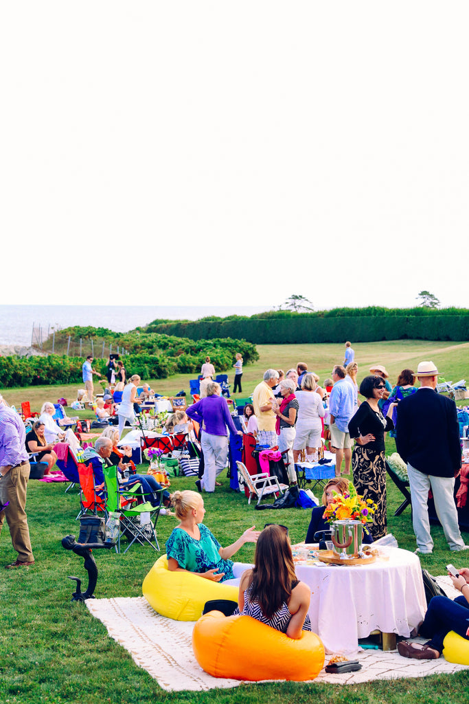 newport film, picnics at Doris Duke mansion