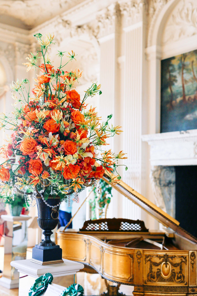 Bouquet, florist, floral, artistry, nature's beauty, flowers, grand piano, wealth, stunning