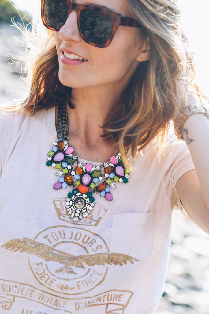 jess kirby fort adams newport rhode island loren hope statement necklace