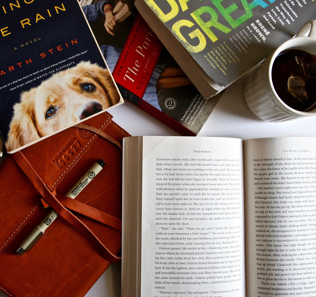 the paris wife, art of racing in the rain, gareth stein, deborah harkness, elizabeth gilbert, writing, diary, reading, literature, daring greatly