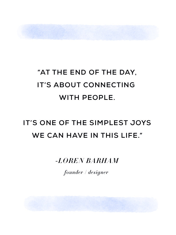 simplest joys, quote, Loren Barham