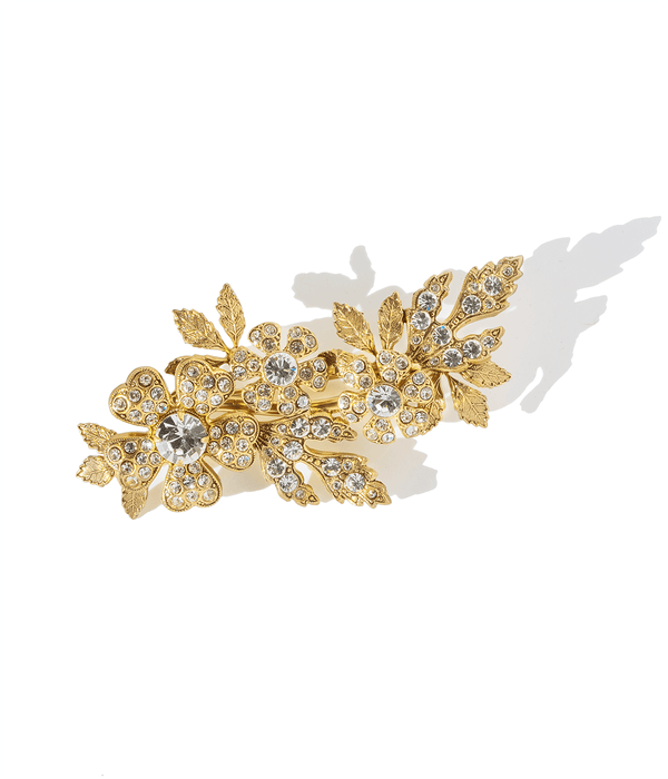 Gardenia Flower Brooch