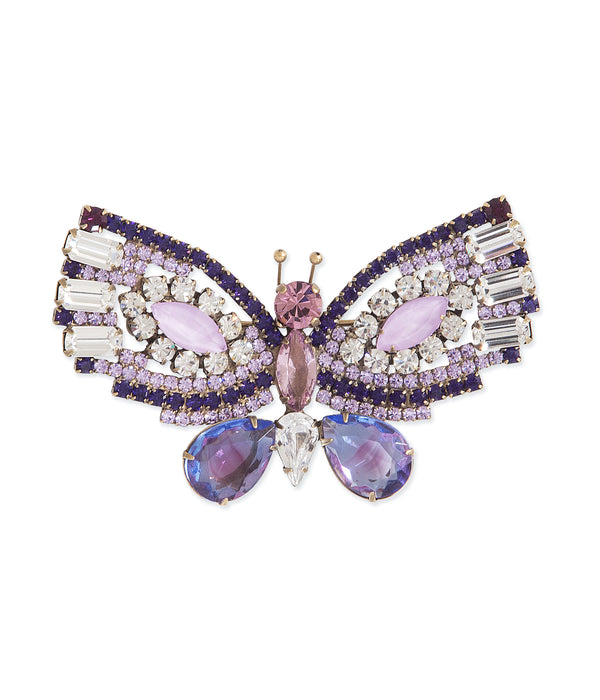 Large Butterfly in Lilac / Tanzanite