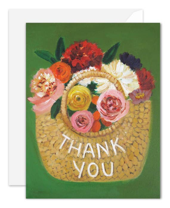 Janet Hill Studio - Thank You Basket Card