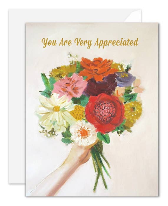 Janet Hill Studio - You Are Very Appreciated Card