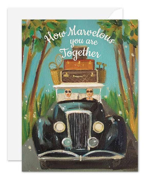 Janet Hill Studio - How Marvelous You Are Together Card