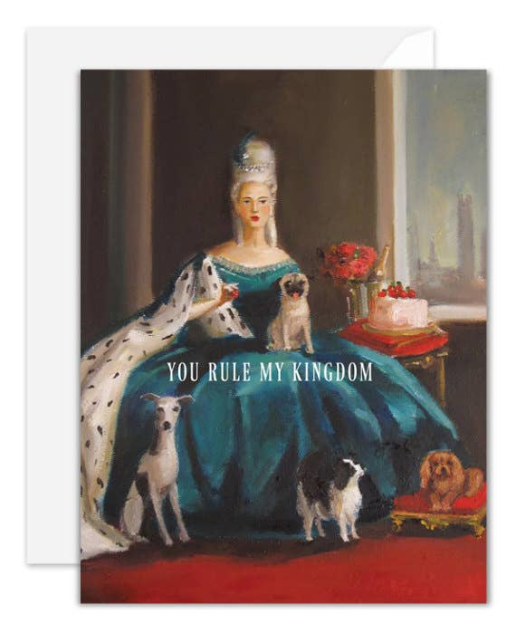 Janet Hill Studio - You Rule My Kingdom Card
