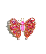 Small Butterfly in Rose / Padparadscha