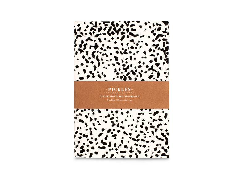 Darling Clementine - Soft Notebook Set Spotted