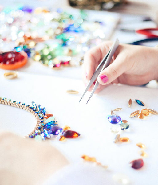 SUMMER SESSION: 7.28.18 STATEMENT NECKLACE CLASS