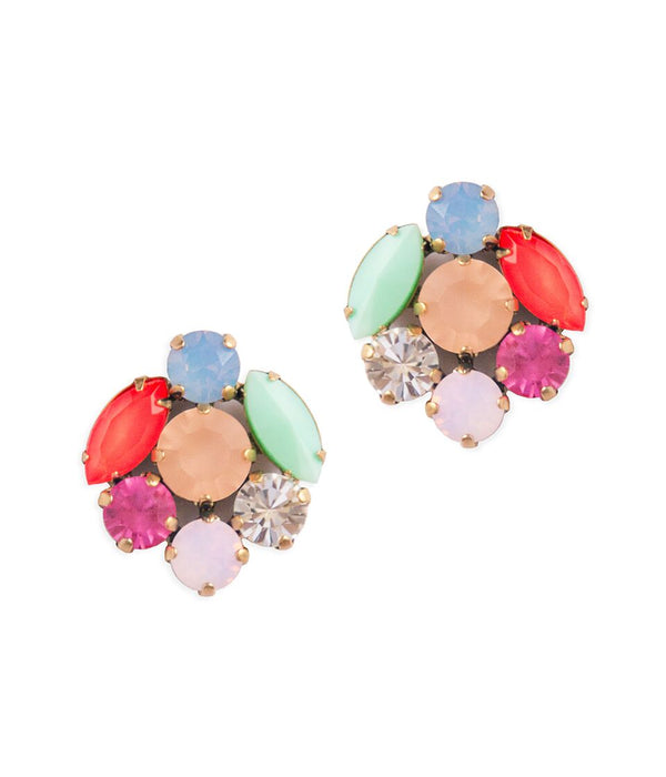 ABBY STUDS IN MULTI