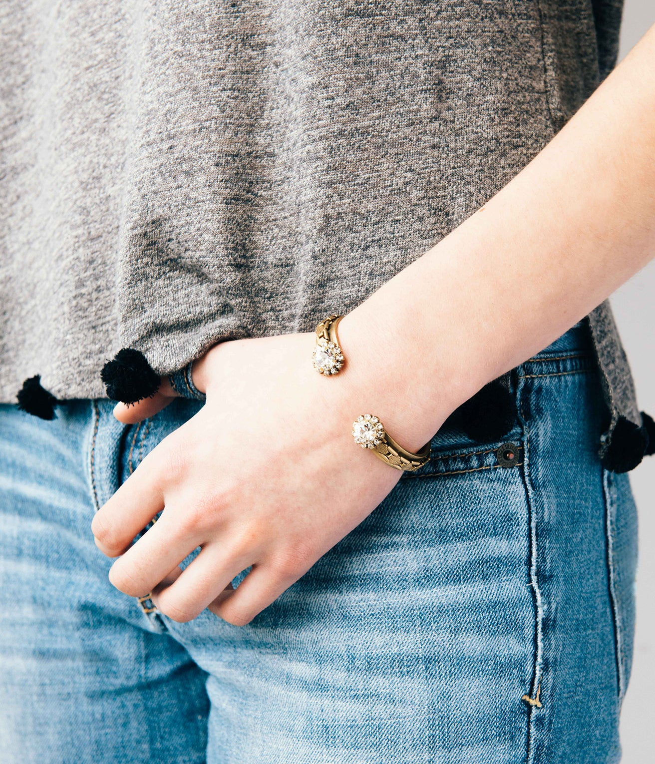 MARLEY CUFF IN GOLD
