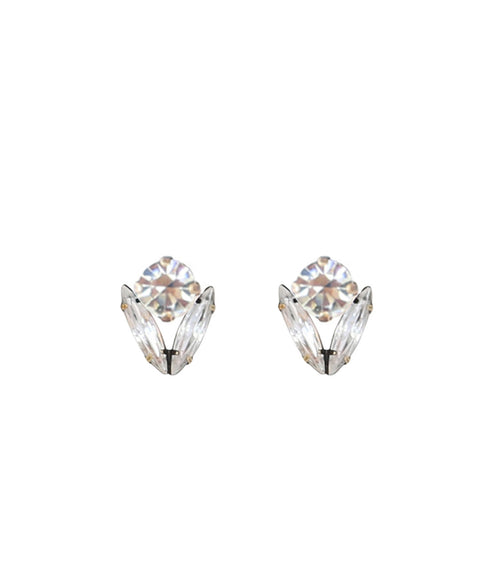 ARISTA STUDS IN CRYSTAL