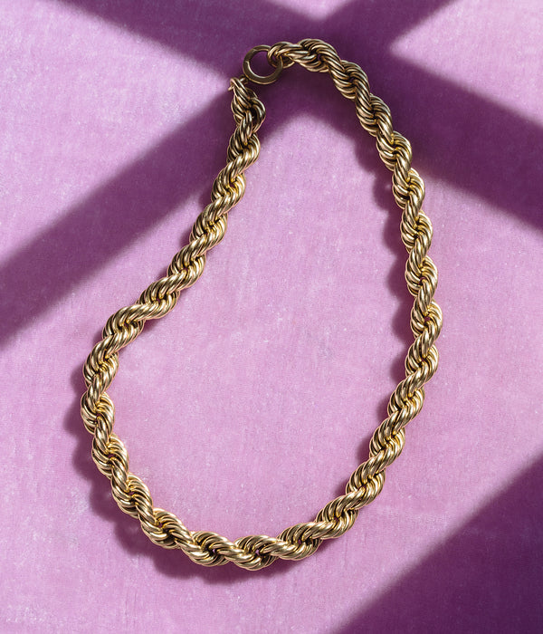 Adrian Rope Chain Necklace