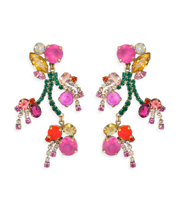 Begonia Statement Earrings