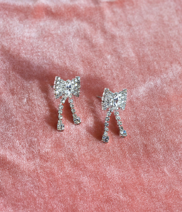 BELLA BOW EARRINGS