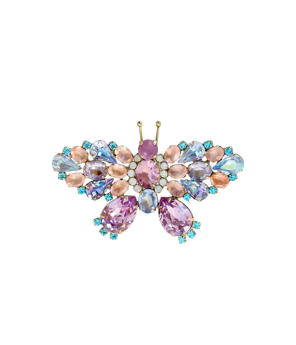 Butterfly Jewelry - Loren Hope Butterfly Pin in Rosaline, Light Amethyst