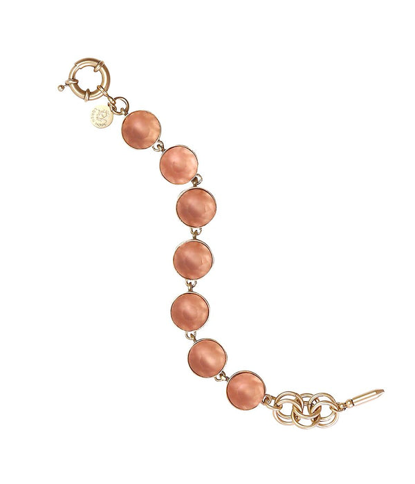 CECELIA BRACELET IN PEACH
