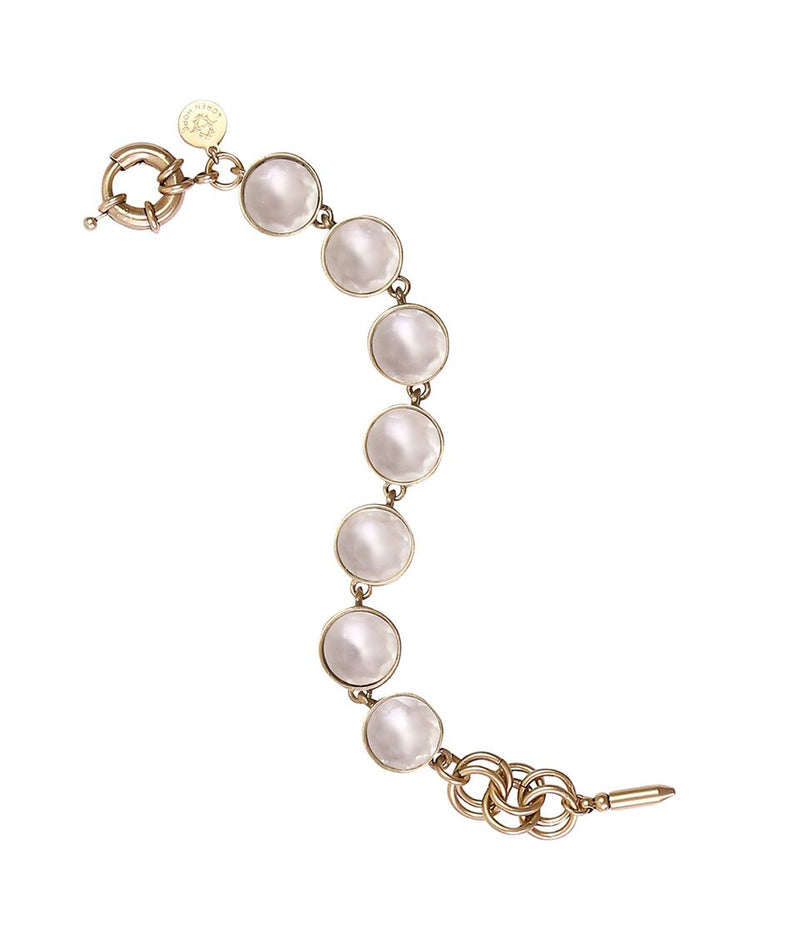 CECELIA BRACELET IN WHITE