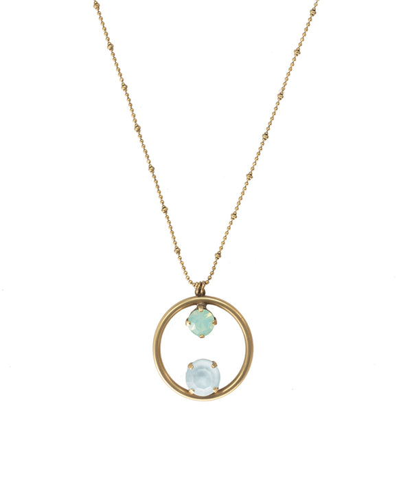 CECELIA DELICATE PENDANT NECKLACE