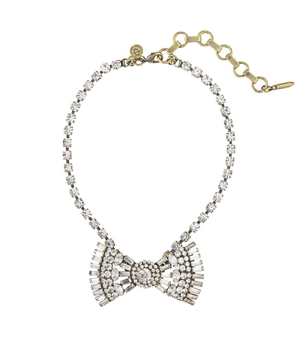 Chloe Bow Tie Necklace