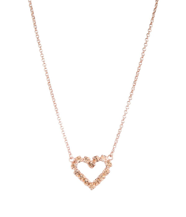 CUPID NECKLACE IN ROSE GOLD