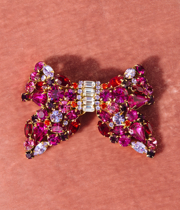 Consuelo Bow Brooch
