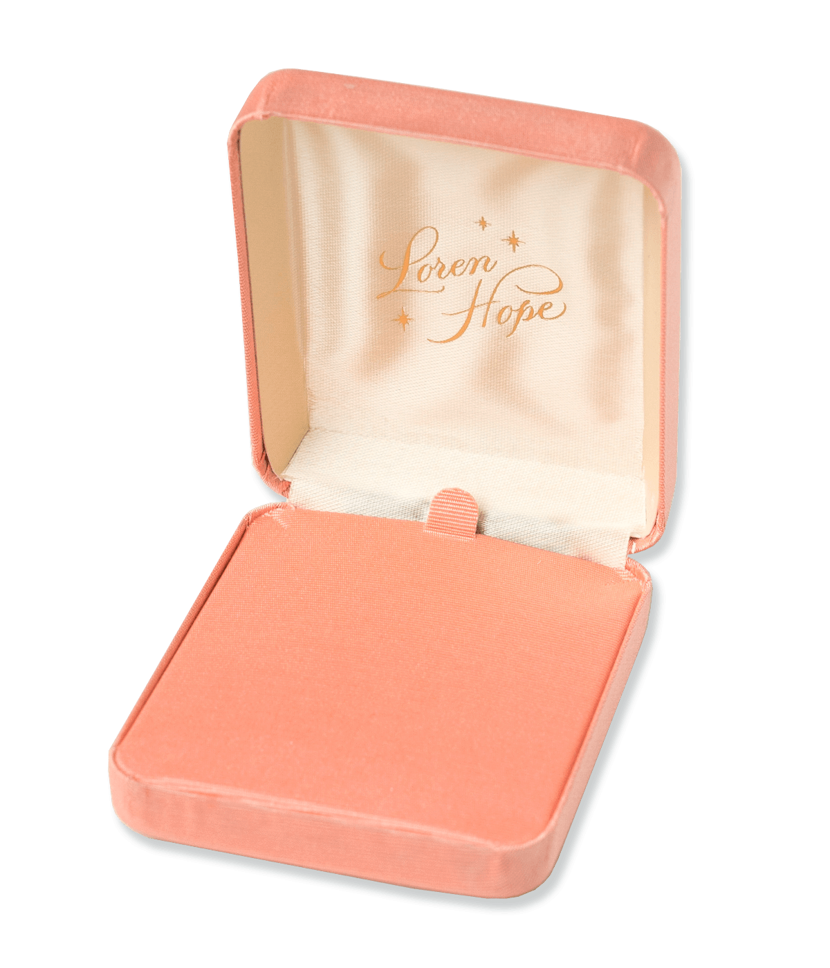 Large Vintage Style Coral Gift Box