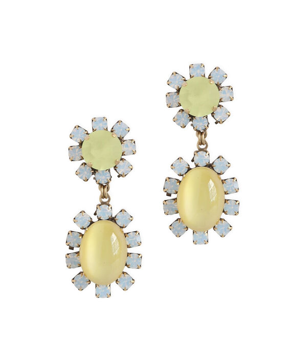 DAISY TWO DROP EARRINGS