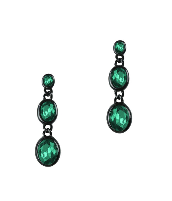 DANA EARRINGS IN EMERALD