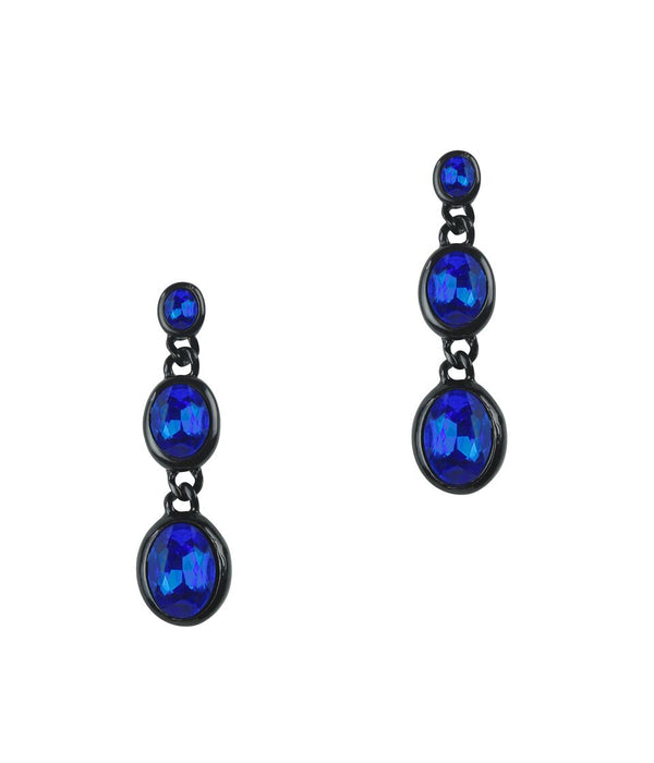 DANA EARRINGS IN SAPPHIRE