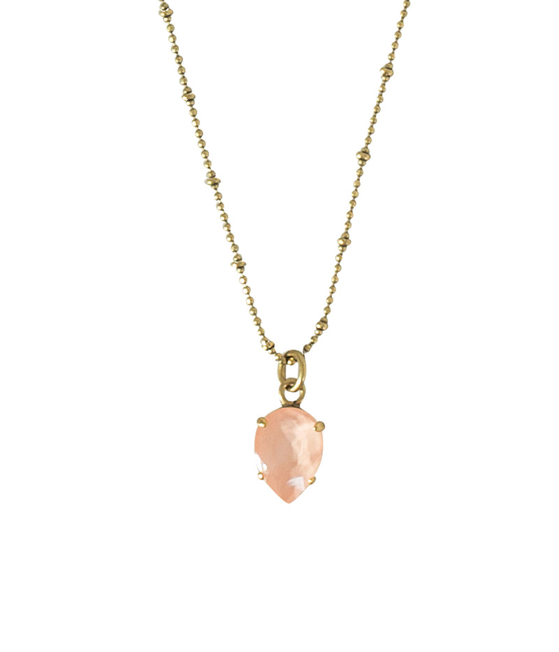 Daphne Delicate Pear Necklace