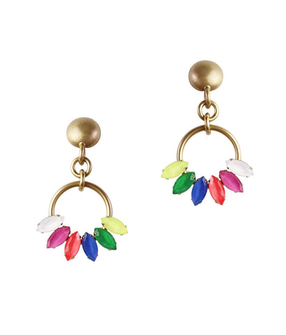 SCARLETT EARRINGS IN MULTI