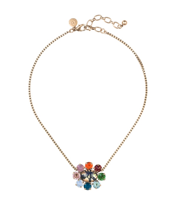 EMERY CLUSTER NECKLACE