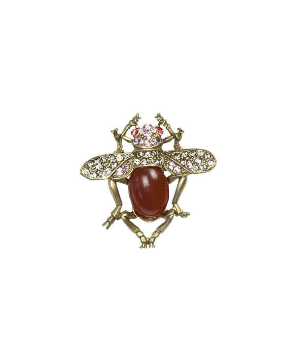 EMERY BUG BROOCH