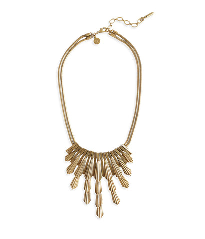 SYLVIA NECKLACE IN JET