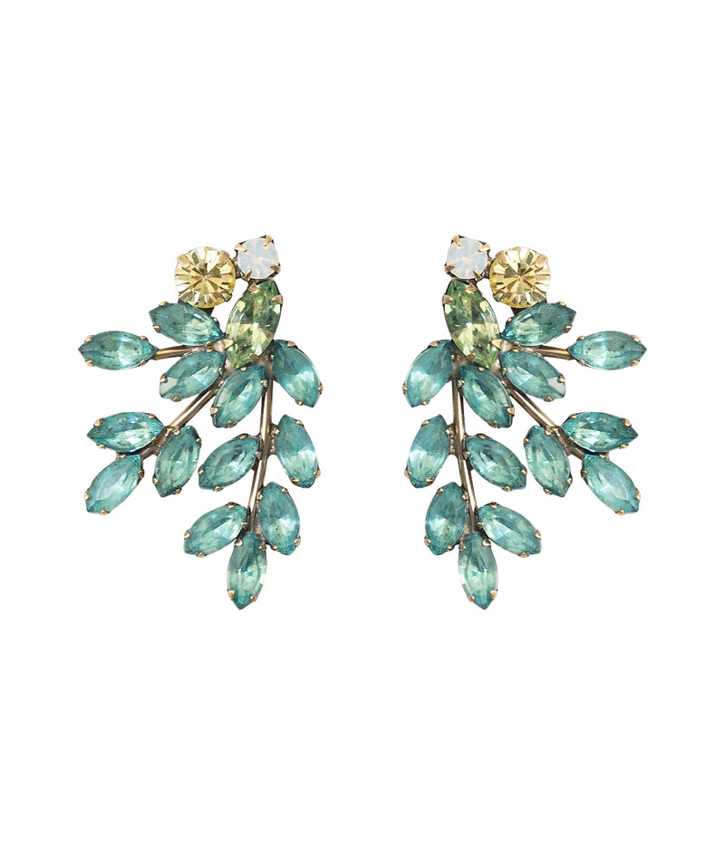 Farrow Earrings in Aqua