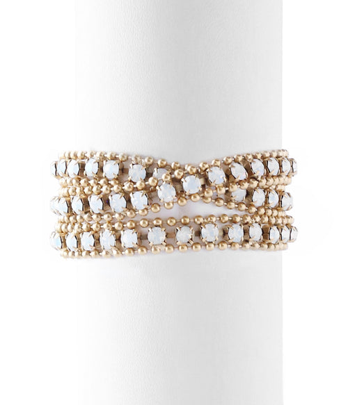 Glenn wrap bracelet by Loren Hope. Made in America.