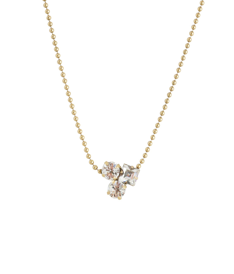 Harlow Delicate Necklace in Crystal