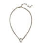 Loren Hope Hayden Choker in Crystal and Silver